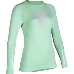 UYN Visyon UW LS Shirt Dam aqua/pink/pearl grey